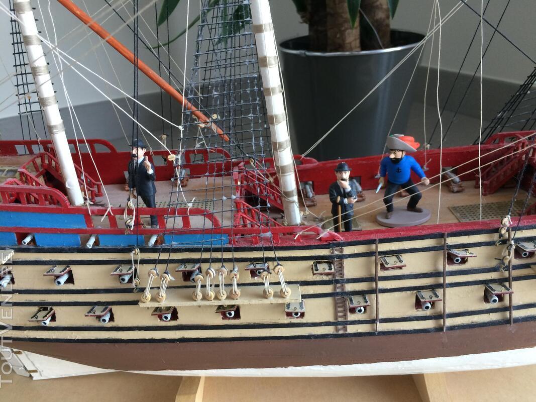Maquette Tintin La Licorne 2011 285159932