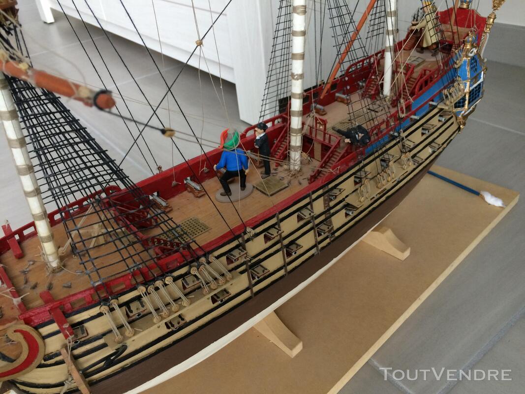 Maquette Tintin La Licorne 2011 285159935