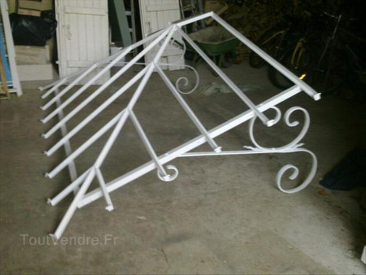 Marquise fer forgé 2650mm x 1690 mm 56269923