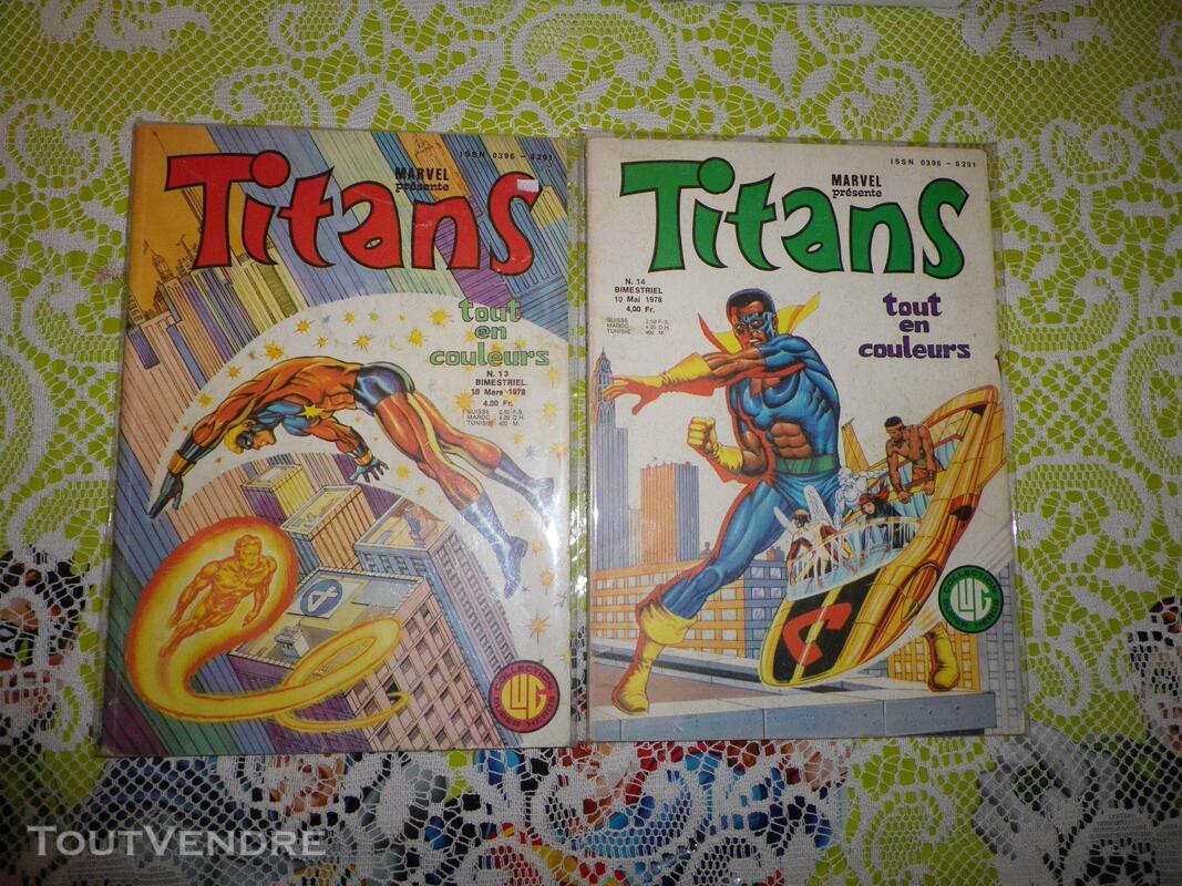 Marvel comics - 4 numeros de Titans 633816607