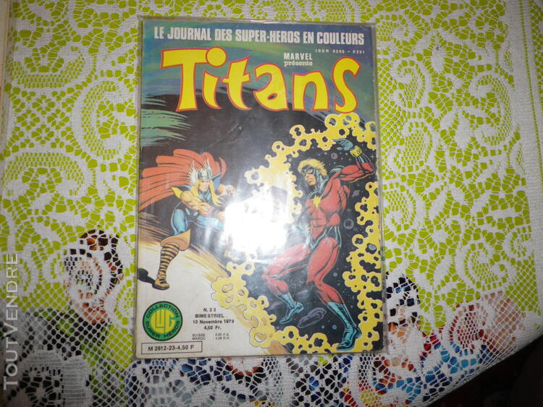 Marvel comics - 4 numeros de Titans 633816610