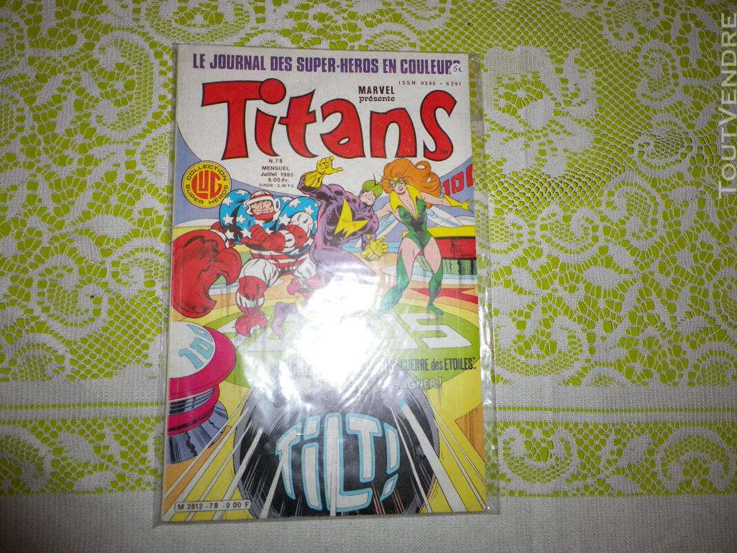 Marvel comics - 4 numeros de Titans 633816613