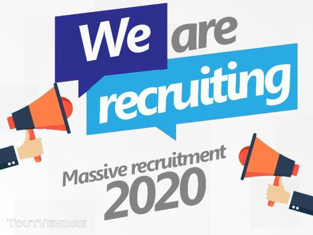 Massive recruitment 2020 621480310