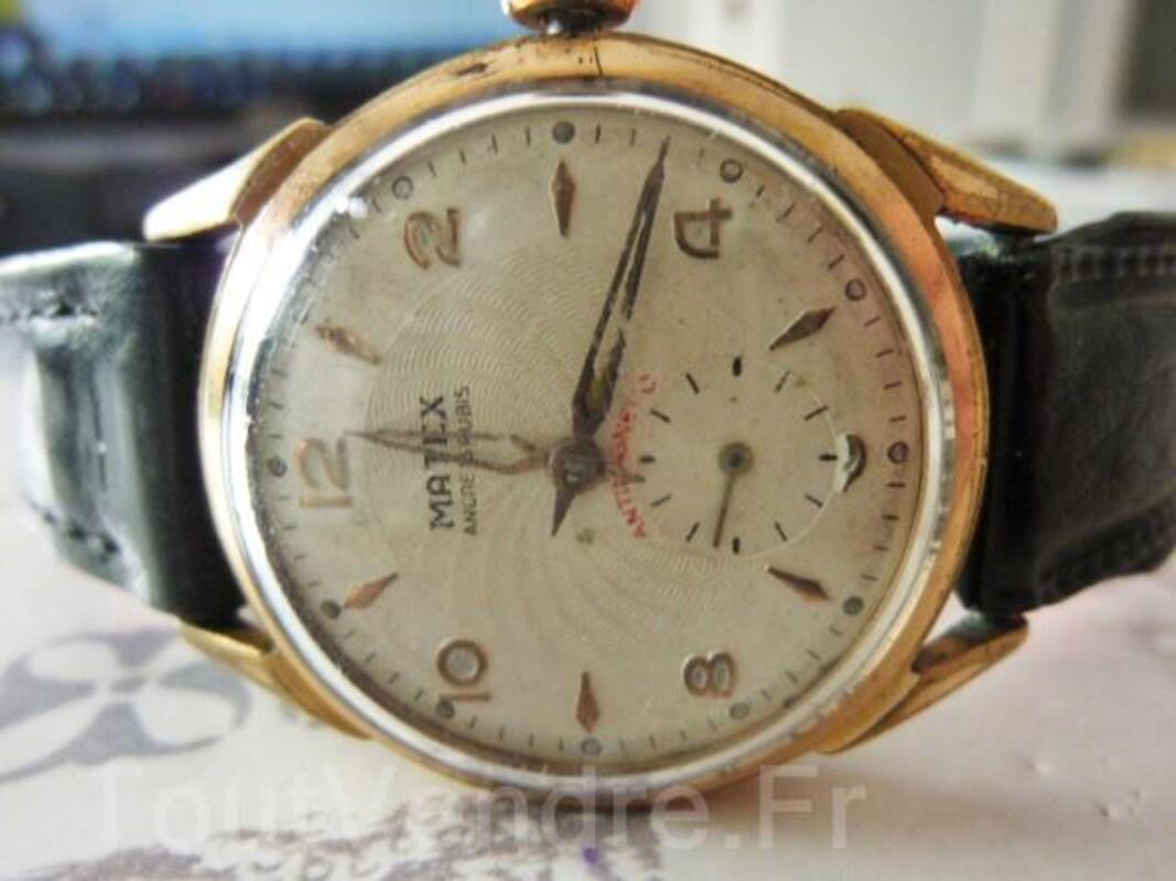 MATEX montre mécanique 1960 ébauche Suisse DIV0529 97070664