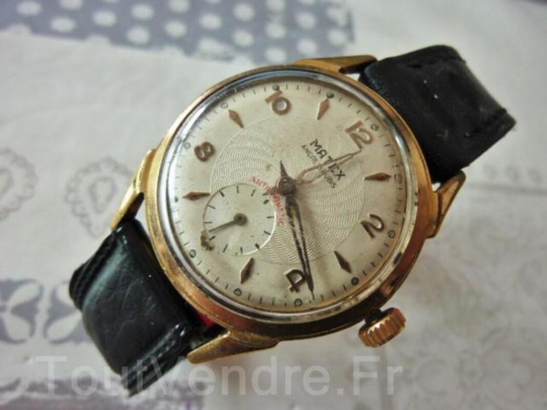 MATEX montre mécanique 1960 ébauche Suisse DIV0529 97070665
