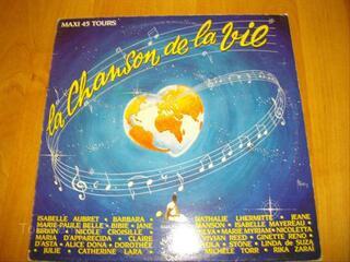 Maxi 45 tours : LA CHANSON DE LA VIE