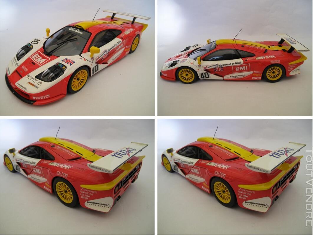 Mc Laren F1 GTR #40, 24H du Mans 1998 UT Models 1/18 125731562