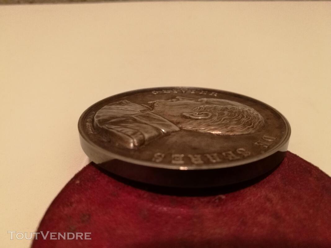 Médaille Argent&Ecrin XIXème H De Longueil suxn 277262804