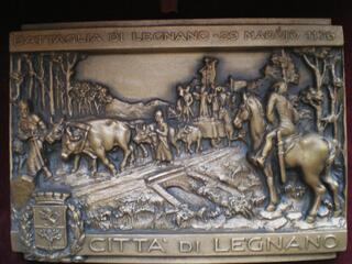 Médaille de la Bataille de LEGNANO - Battaglia di LEGNANO.