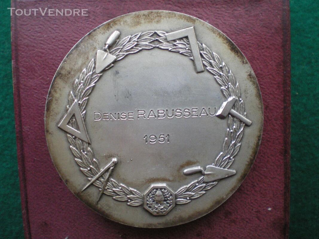 Médaille de la Chambre Syndicale des Ciments et Bétons. 128858694