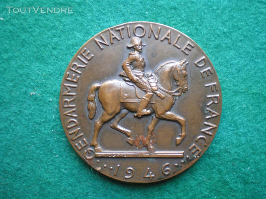 Médaille de la Gendarmerie Nationale de France 1946. 535128588