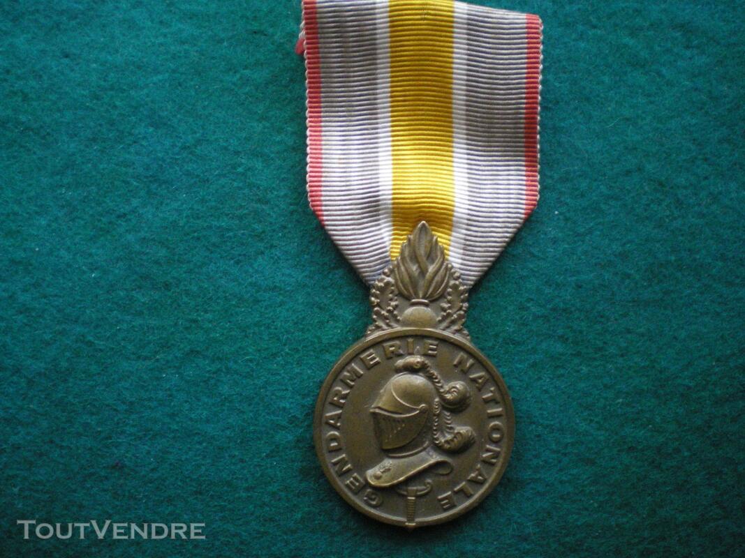 Médaille de la Gendarmerie Nationale. 129811874