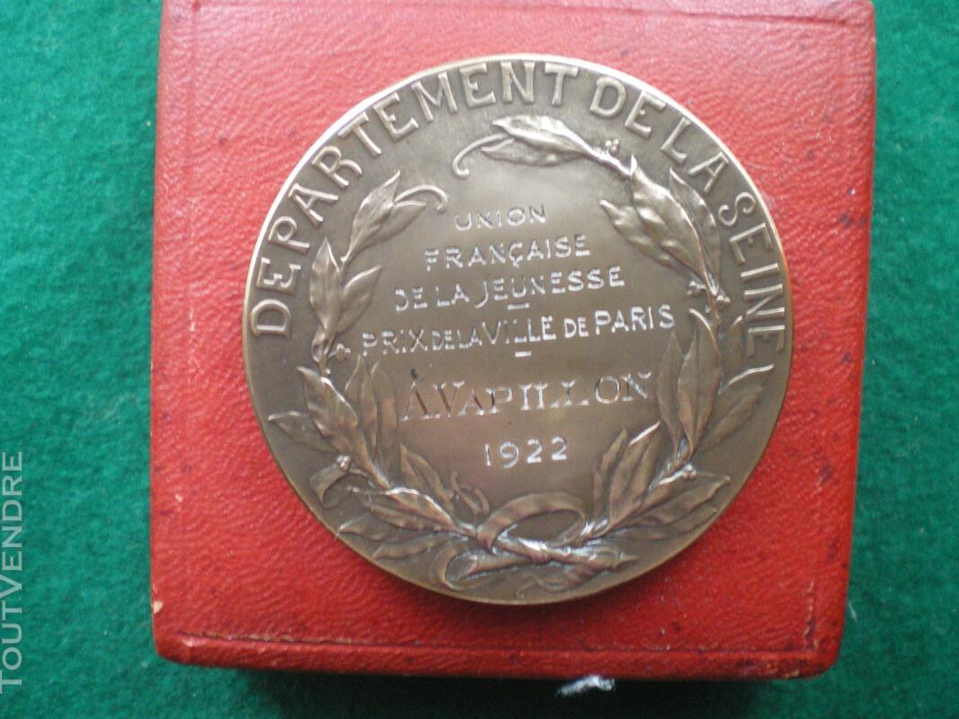 Médaille de la Ville de PARIS. 128854001