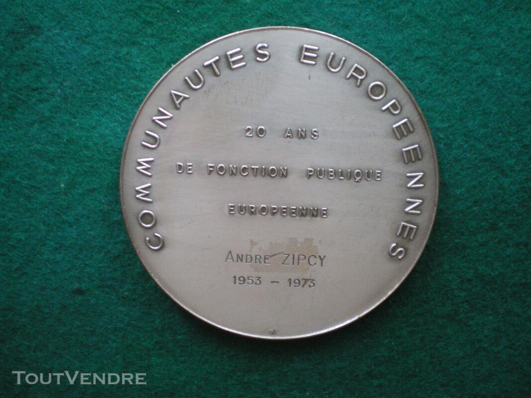 Médaille Robert SCHUMAN 144199244