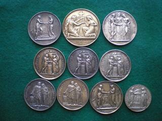 Médailles de Mariage.