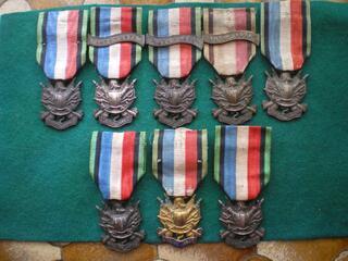 Médailles des Vétérans de 1870-1871.