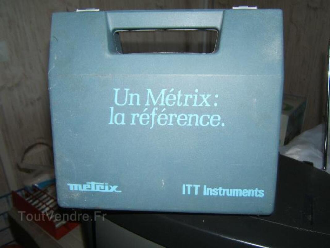 METRIX LA REFERENCE ITT INSTRUMENT 90592403