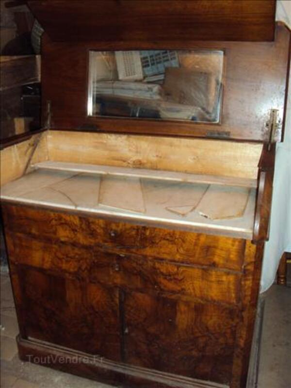 Meuble de toilette ancien style Louis Philippe 71069548