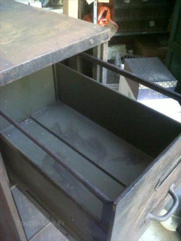 Meuble industriel de rangement à tiroirs 56502165