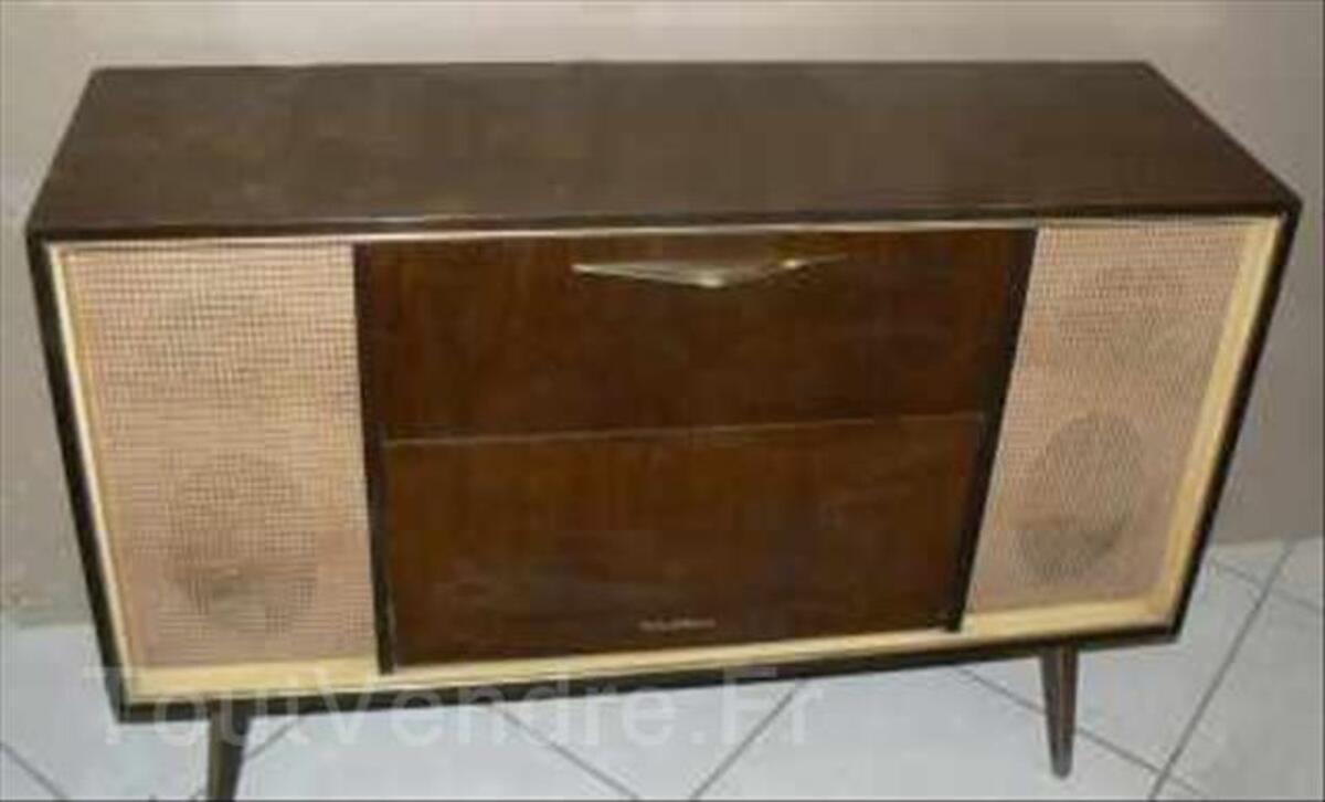 Meuble poste radio sur pied 1960 106134885