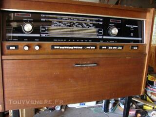 Meuble radio TSF
