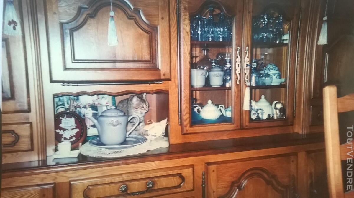 Meuble salon chêne massif fabrication artisanale
