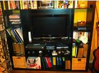 Meuble TV bibliothèque Ikéa bon état