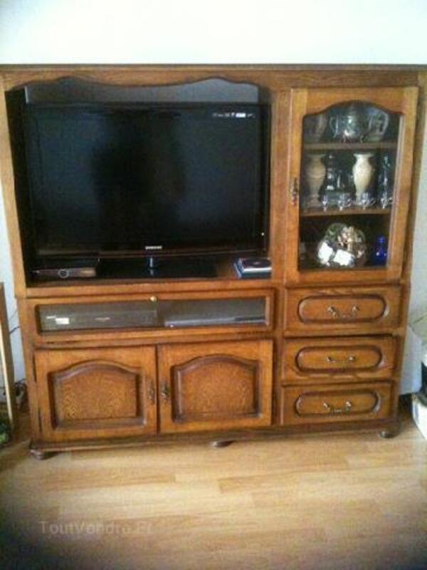 Meuble TV chene massif 96252734