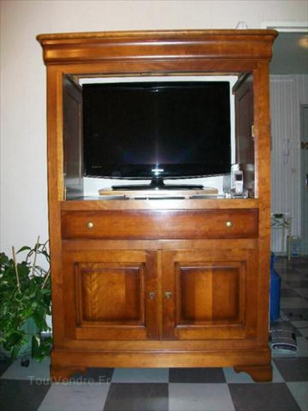 Meuble TV en bois Massif 56463241
