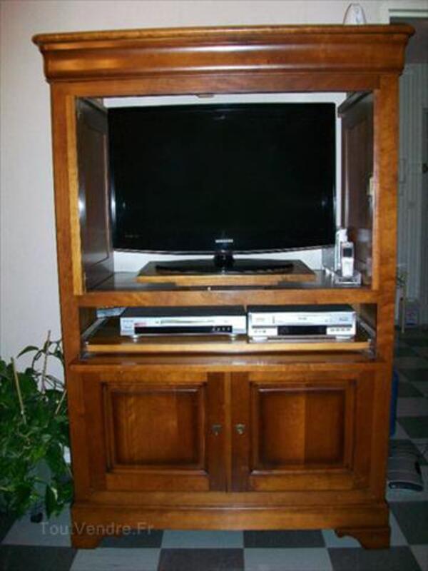 Meuble TV en bois Massif 56463242