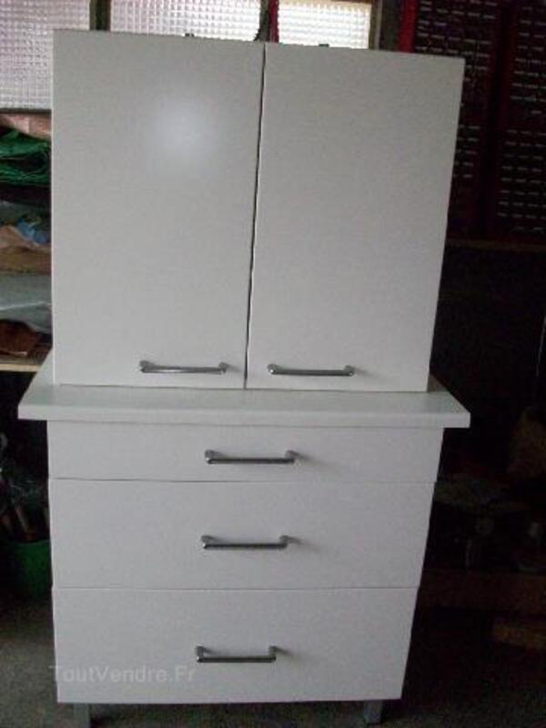 Meubles de cuisine IKEA/FAKTUM : Applad blanc 93183532