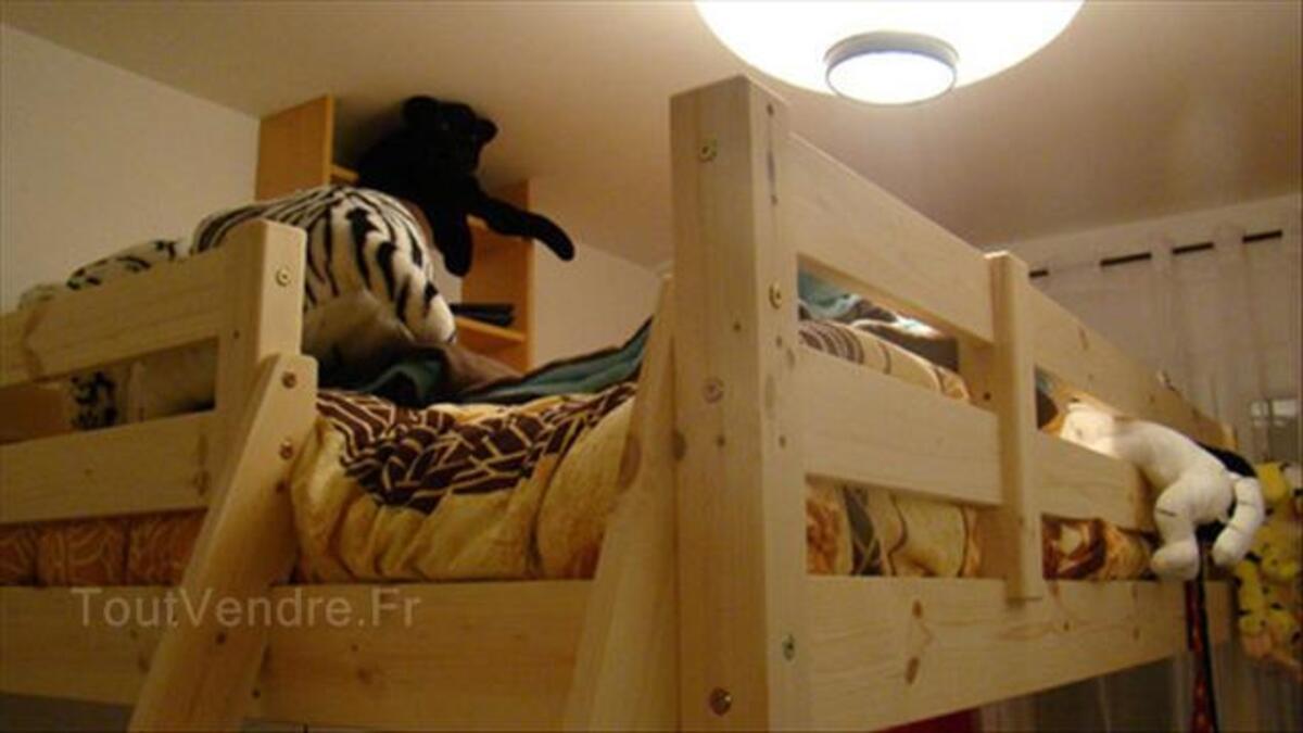 Mezzanine en bois brut 140*190 64518392