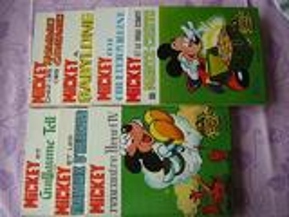 Mickey albums cartonnés