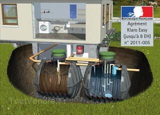 Micro station d'épuration Klaro easy