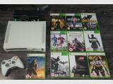 Microsoft XBox 360 20GB White Console with 10 Games Bundle +