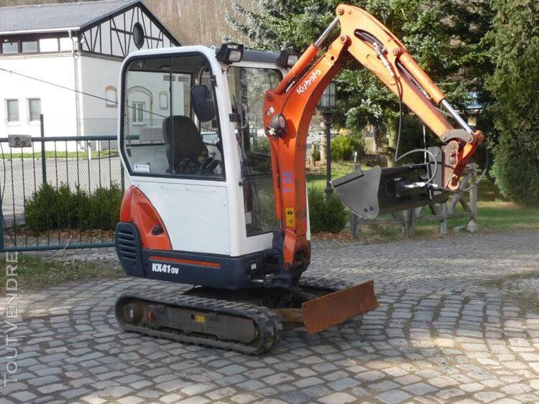 Mini pelle hydraulique Kubota KX41-3V 171303940