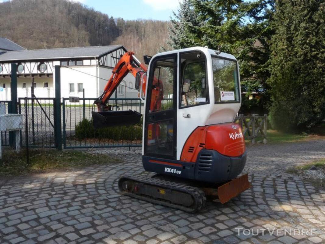 Mini pelle hydraulique Kubota KX41-3V 171303946