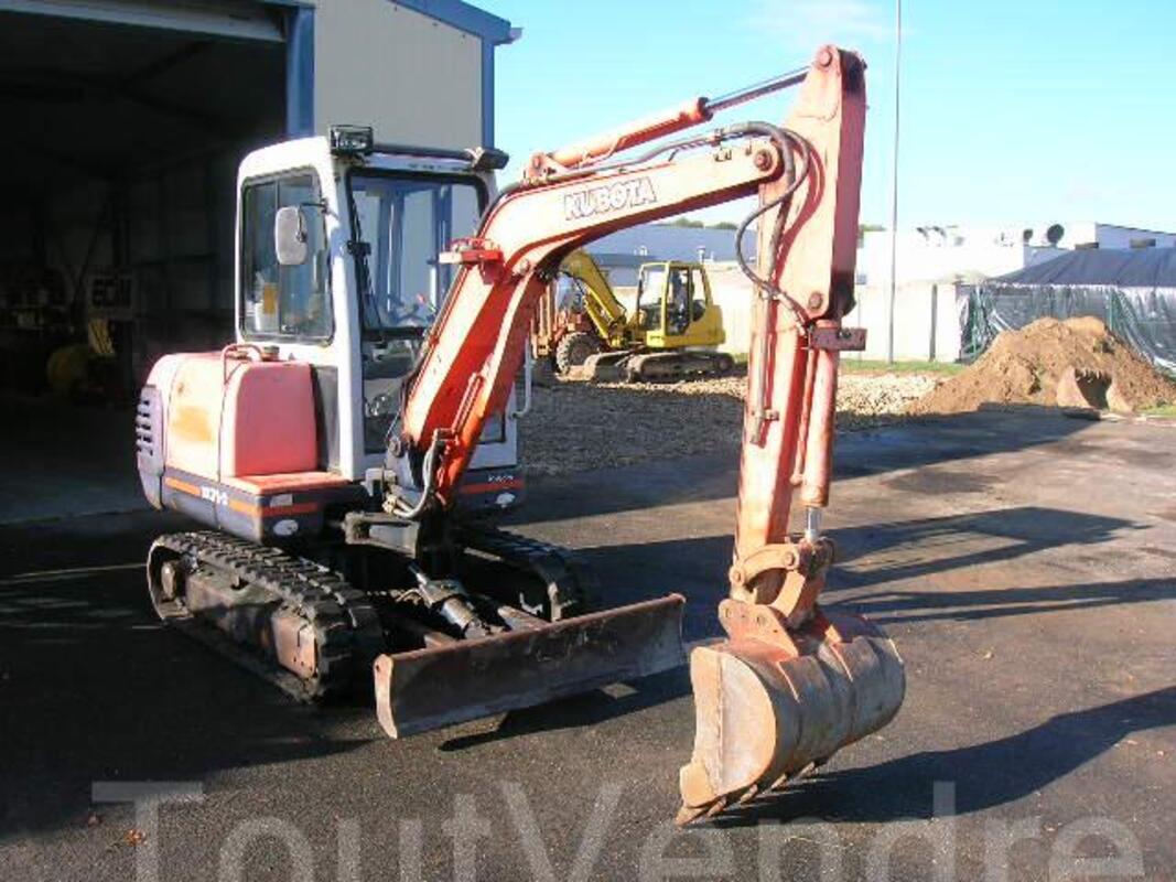 Mini pelle KUBOTA KX 71-2 45470275