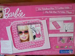 MINI-TV lecteur vidéo Barbie LEXIBOOK
