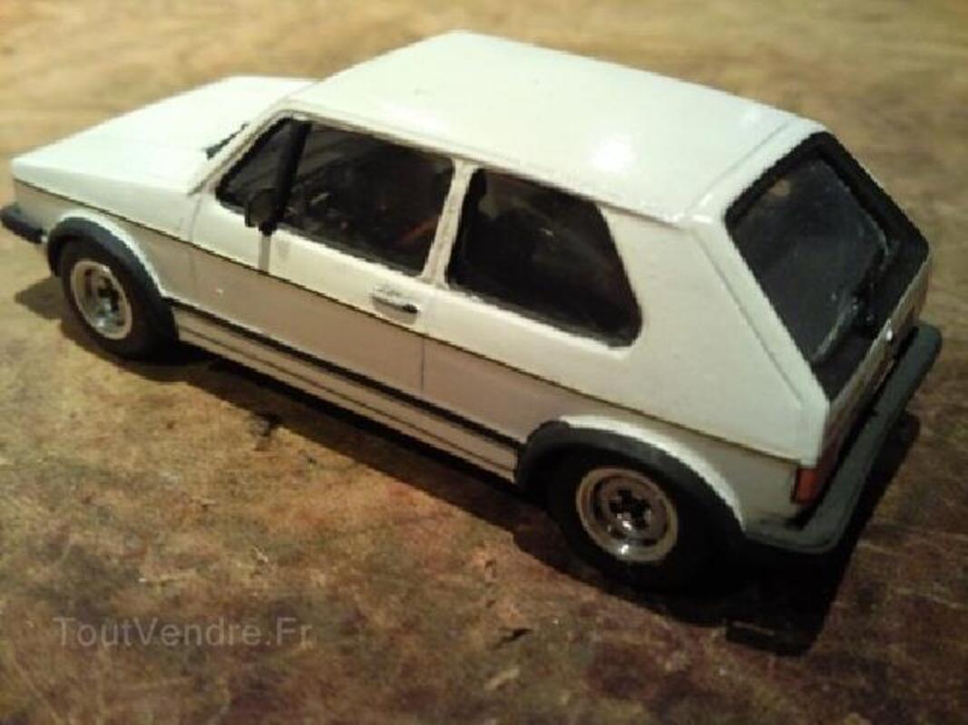 Miniatures auto kit rares 1/43 vw golf 92600751