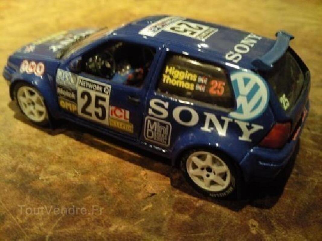 Miniatures auto kit rares 1/43 vw golf 92600752