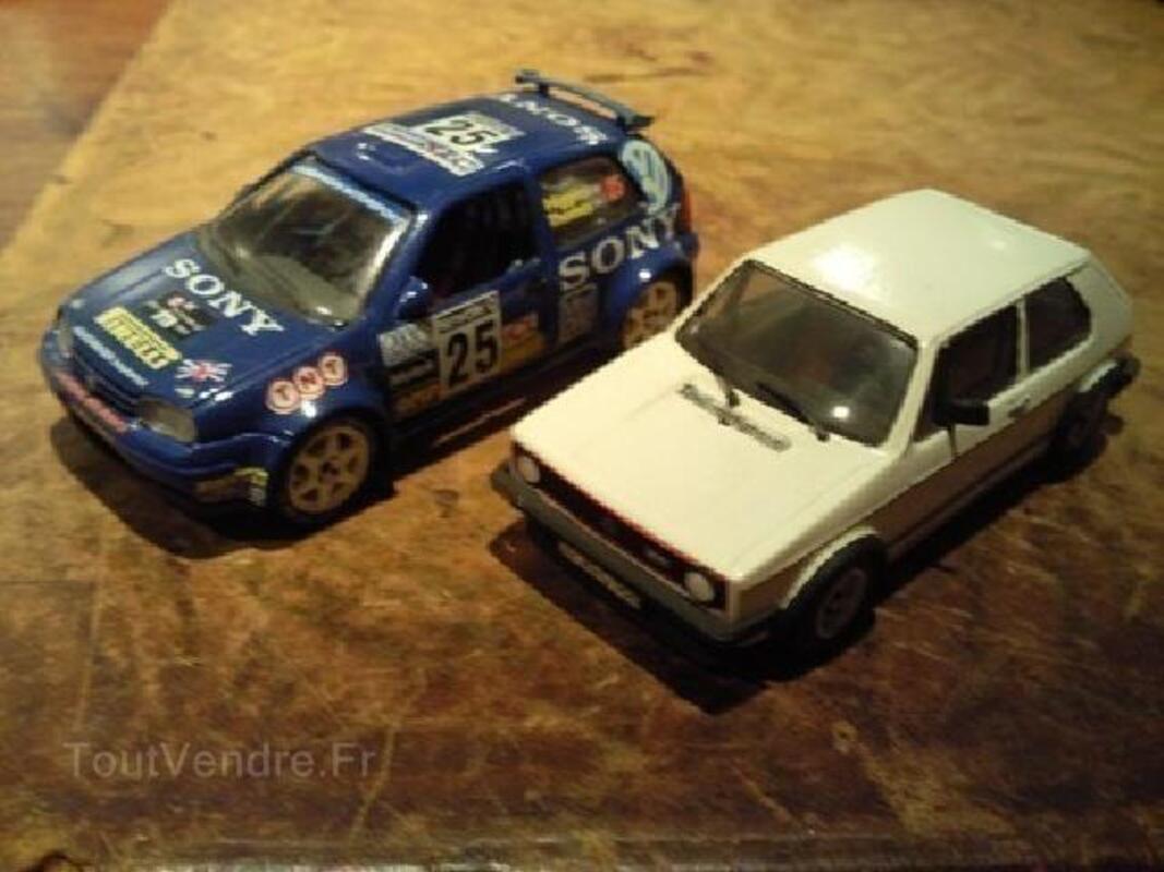 Miniatures auto kit rares 1/43 vw golf 92600753