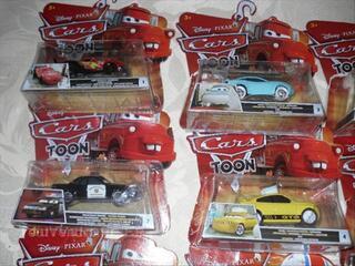 Miniatures Disney Cars