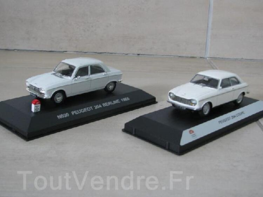 Miniatures Peugeot 204 93839685