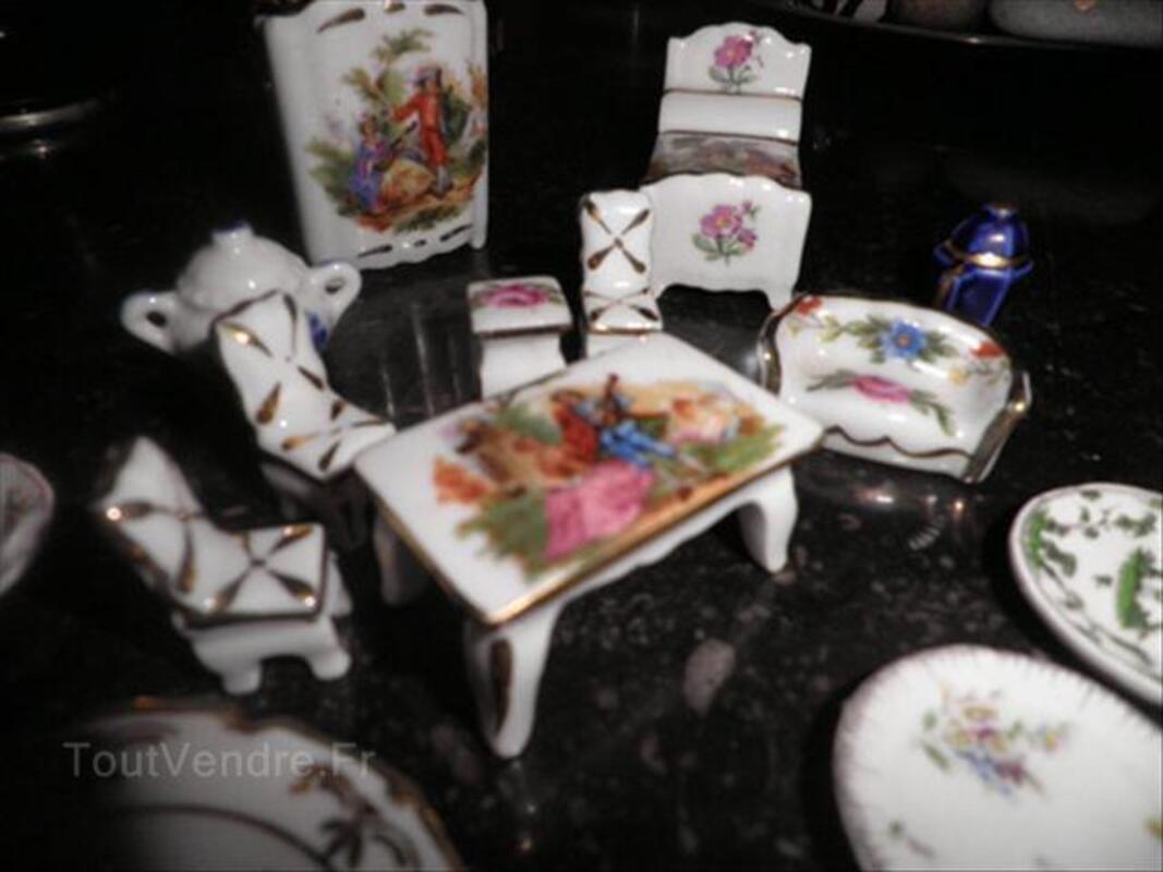 Miniatures porcelaine de Limoges véritable 56303641