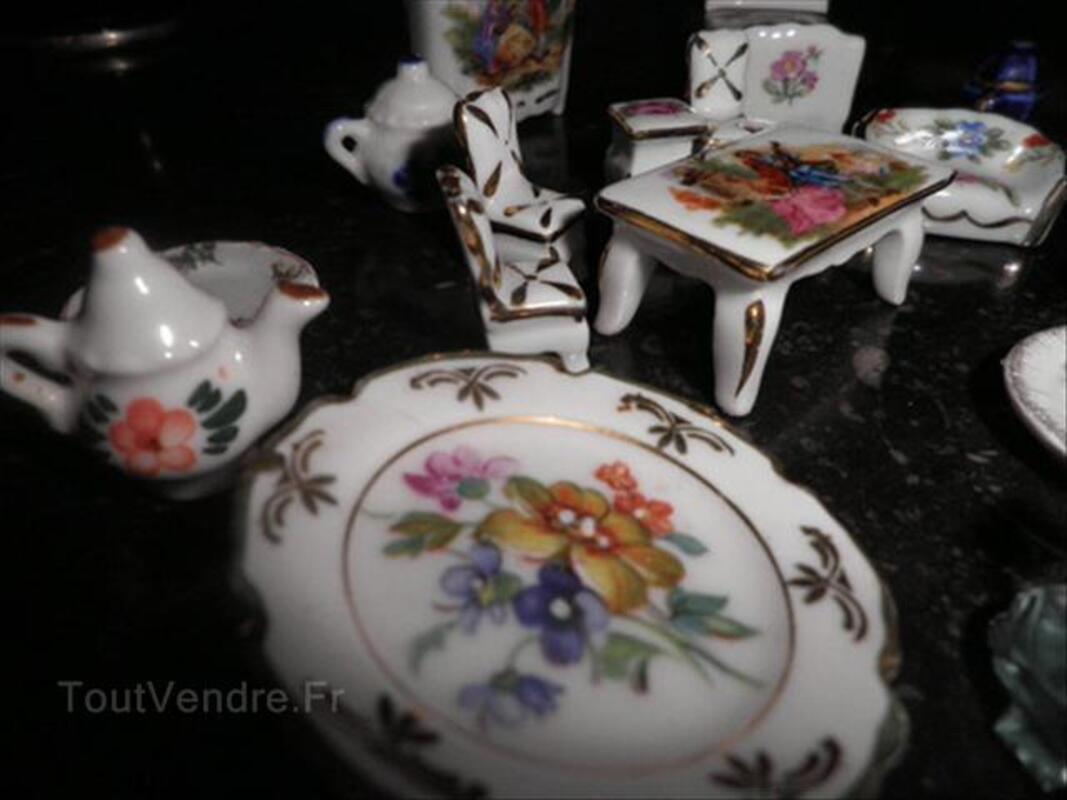 Miniatures porcelaine de Limoges véritable 56303642