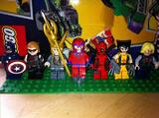 Minifigures Lego X Men Avengers Marvel DC Universe