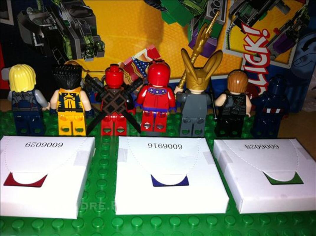 Minifigures Lego X Men Avengers Marvel DC Universe 78154541
