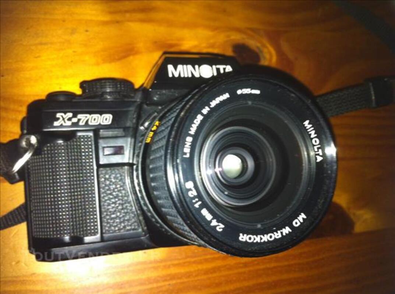 Minolta X700 (appareil photo argentique + 4 objectifs 84054773