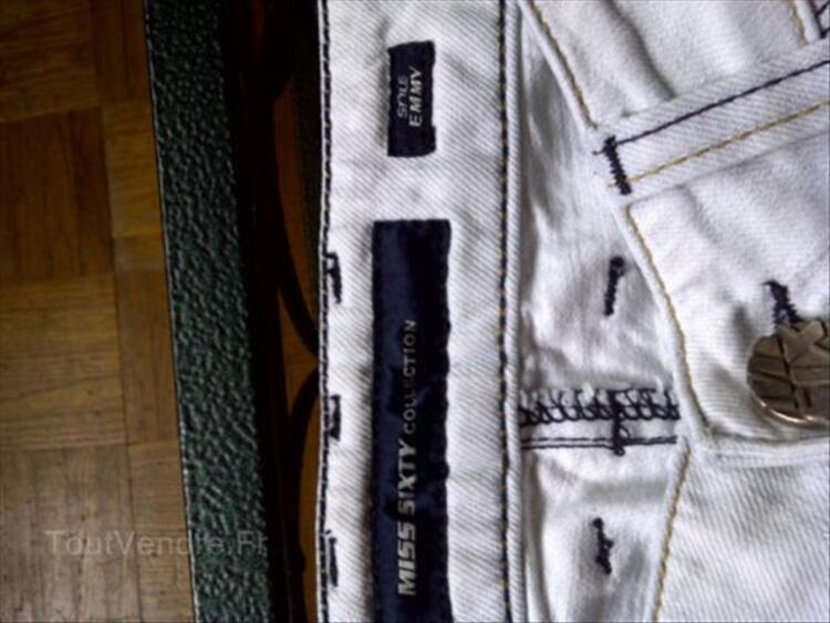 MISS SIXTY jean blanc taille 36 86881030